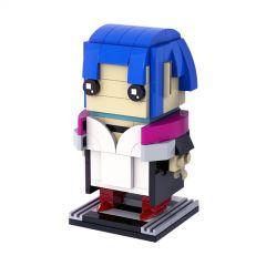 MOC Evelyn , Cyberpunk 2077 - Brickheadz
