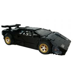 MOC-59239 Lamborghini Countach LP5000 QV - Black versionby Rastacoco