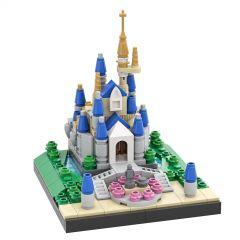 MOC-29065 Cinderella Castle