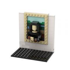 3D Mini Masterpiece - The Mona Lisa