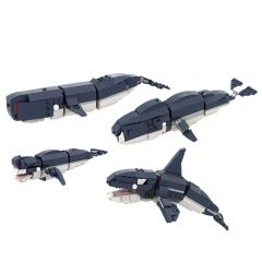 MOC WHALES 31088 2 to 1 PLUS!