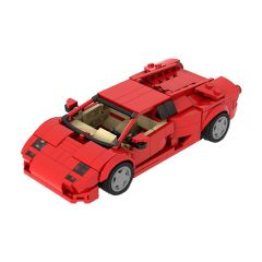 MOC Lamborghini Diablo 6.0 - Red