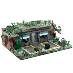 MOC SW Base (Outpost) on Kashyyyk