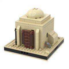 MOC Desert House #1 for a Modular Tatooine