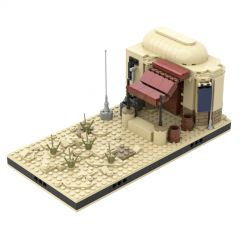 MOC Desert House #2 for a Modular Tatooine