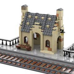 MOC Hogsmeade Station