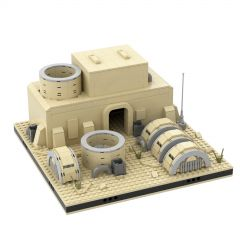 MOC Desert Power Plant #11 for a Modular Tatooine
