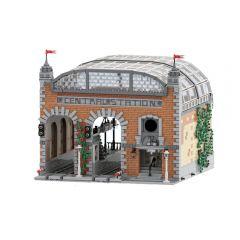 MOC Modular Train Station