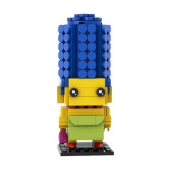 MOC Marge Simpson Brickheadz