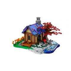 MOC Tiny House At The Sea
