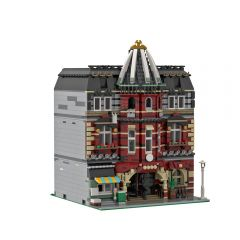 MOC Modular Brick School