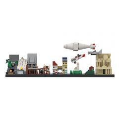 MOC Indiana Jones Skyline Architecture