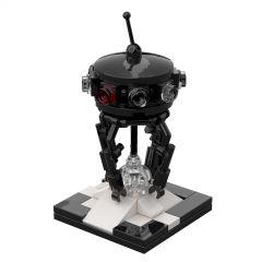 MOC Probe Droid Minifigure Scale