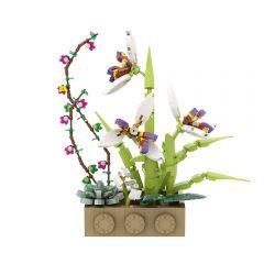 Orchids Flower MOC