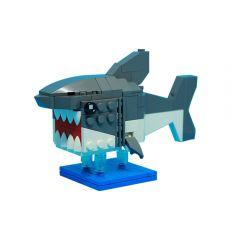 MOC-33188 BrickHeadz Sharkby Leewan