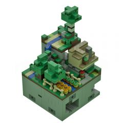 Micro world #1: Wooded hills (1:125 scale)by Mobilbenja