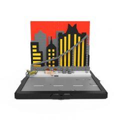 MOC TAS Batmobile Display