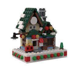 MOC Mini Winter Post Office