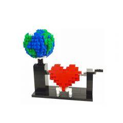 Love Planet, a LEGO Heart automatonby Planet GBC