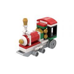 MOC Christmas Train
