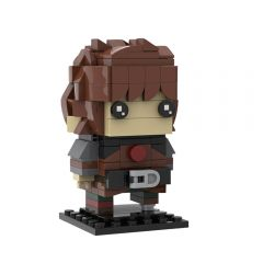 How To Train Your Dragon Hiccup MOC Brickheadzby custominstructions