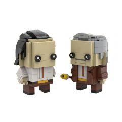 Loki Mobius Brickheadz LEGO MOC - Marvel Studios Lokiby Eugenio Iacono