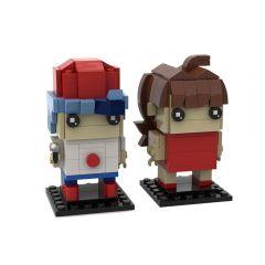 MOC Boyfriend and Girlfriend