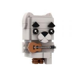 MOC-64644 K.K. Slider (Animal Crossing) Brickheadz