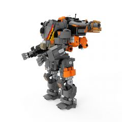 MOC-39614 Titanfall 2 Kane's Scorch Titan