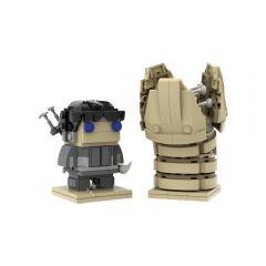 MOC Muad'dib & Shai-Hulud Dune Brickheadz
