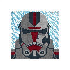 Star Wars Hunter Pixel Art