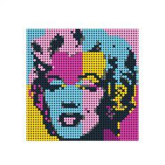 Monroe A and B Pixel Art