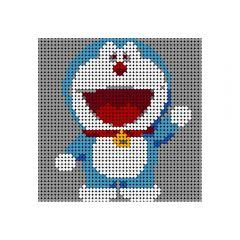 Doraemon Pixel Art