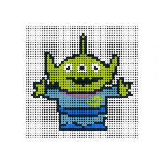 Toy Story-Alien Pixel Art