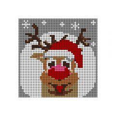 Christmas reindeer Pixel Art