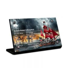 LEGO 4195 Queen Anne's Revenge Acrylic Information Sign