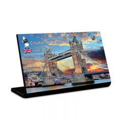 LEGO 10214 Tower Bridge Acrylic Information Sign