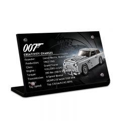 LEGO 10262 James Bond Aston Martin DB5 Acrylic Information Sign