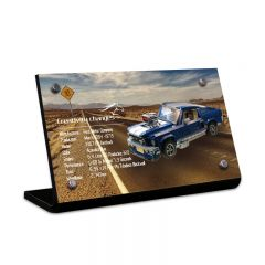 LEGO 10265 Ford Mustang Acrylic Information Sign