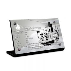 LEGO 21317 Steamboat Willie Acrylic Information Sign