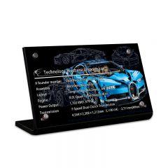 LEGO 42083 Bugatti Chiron Acrylic Information Sign