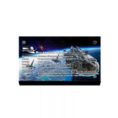 LEGO  Millennium Falcon Acrylic Information Sign