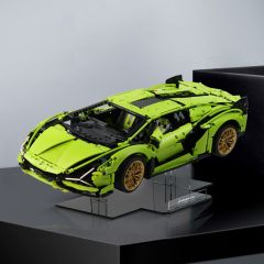 LEGO 42115 Lamborghini Sián FKP 37 Acrylic Display Stand