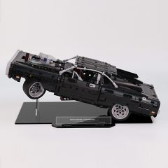 LEGO 42111 Dom's Dodge Charger Acrylic Display Stand