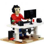 MOC-40609 Office Worker