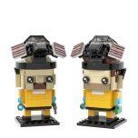 MOC-22534 Breaking Bad Brickheadz Collection - Walter White & Jesse Pinkman