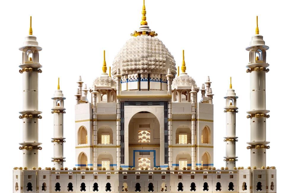 LEGO Taj Mahal building kit