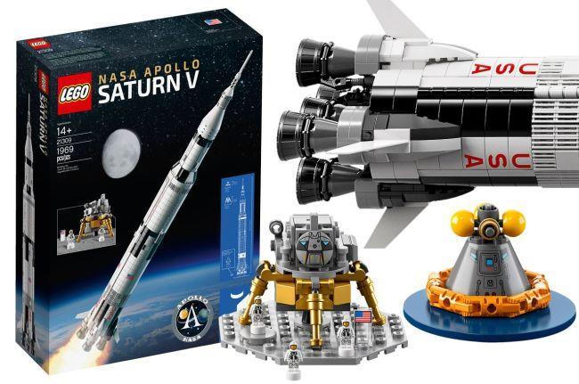 NASA Apollo Saturn V LEGO adult sets