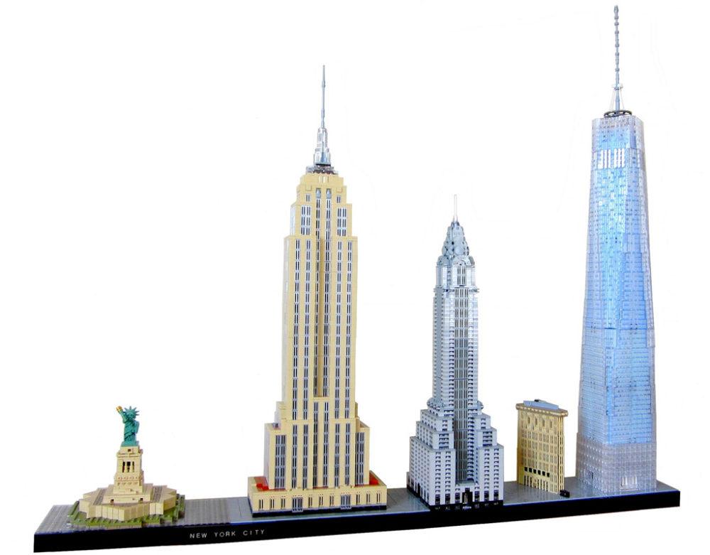 New York City building sets