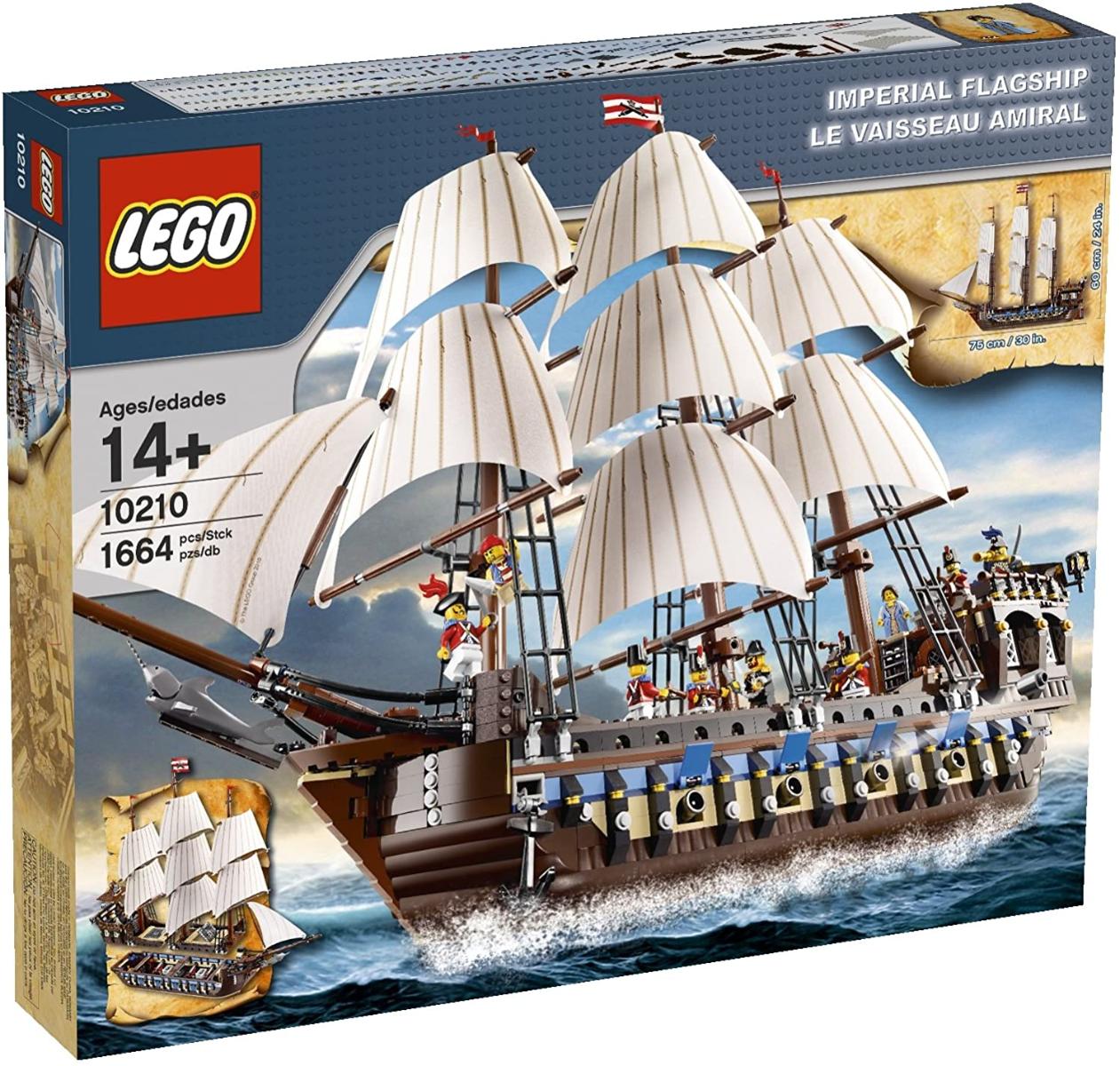 Pirates of Caribbean adult LEGOS